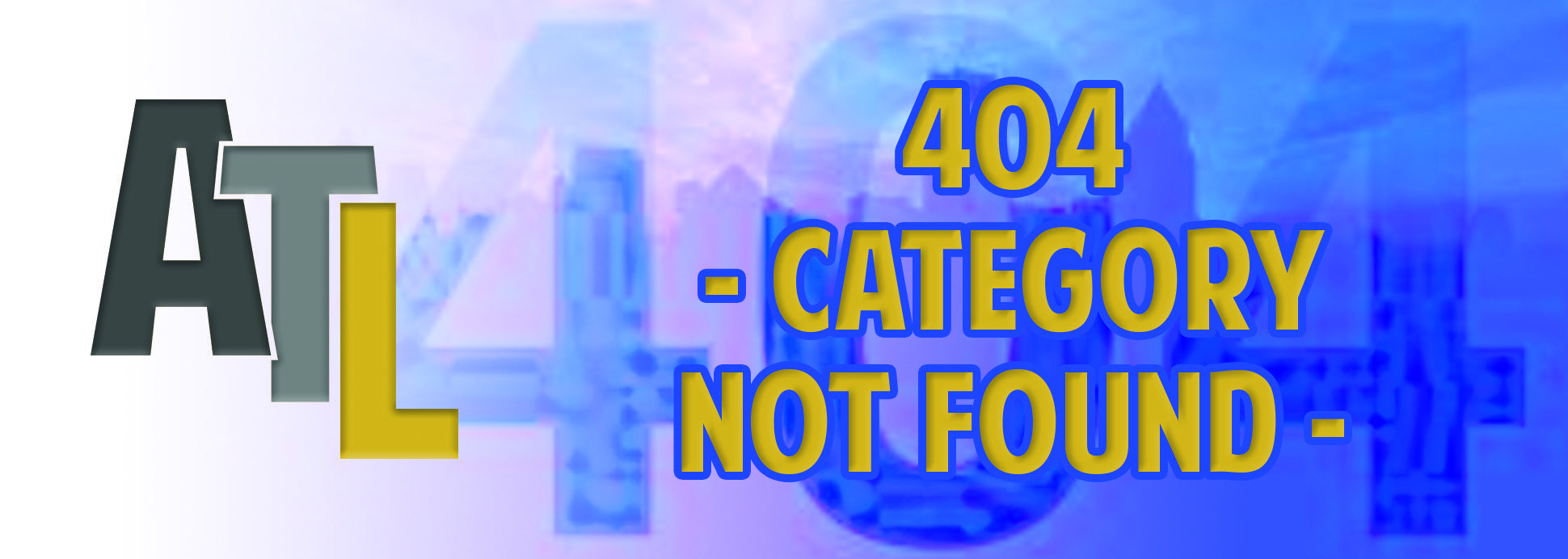 404 - Category Not Found